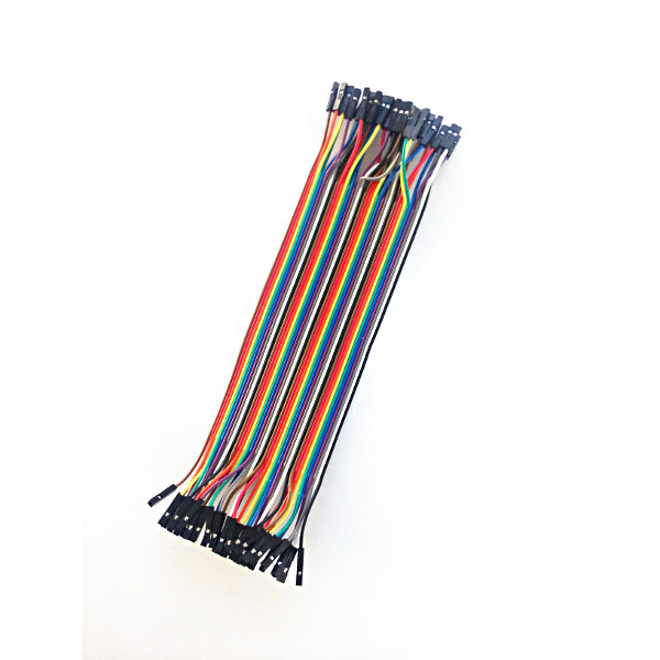 1pin dual female Jumper Wire (200mm) 40pcs