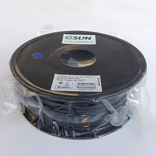 PLA Filament 1.75mm black (1kg)