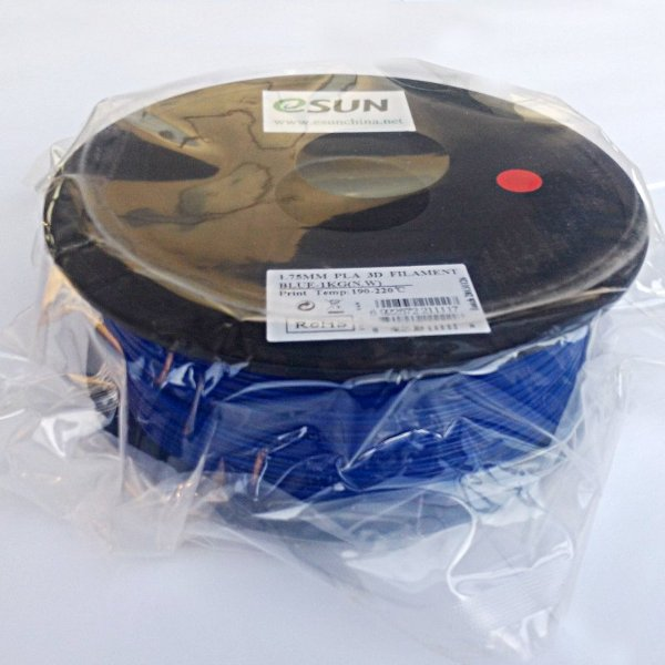 PLA Filament 1.75mm blue (1kg)