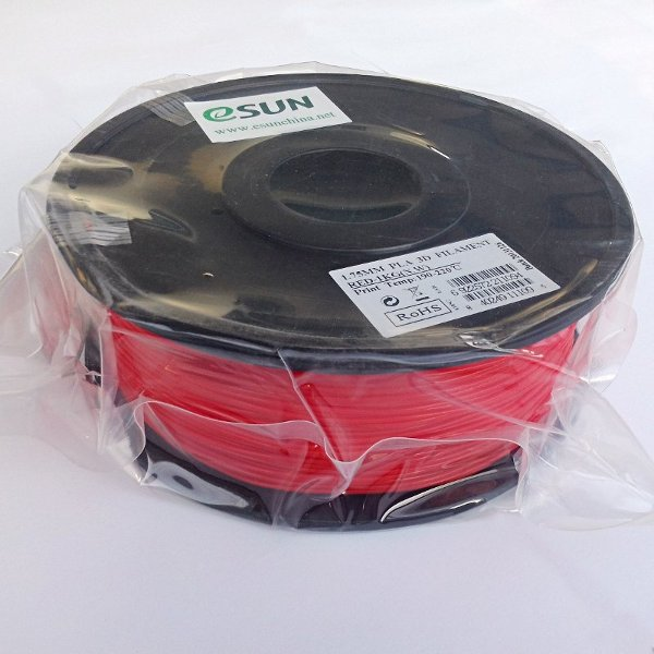 PLA Filament 1.75mm red (1kg)