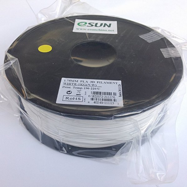 PLA Filament 1.75mm white (1kg)