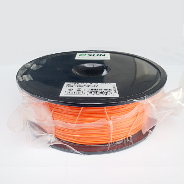 PLA Filament 1.75mm orange (1kg)