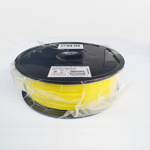 PLA Filament 1.75mm yellow (1kg)