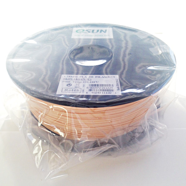 PLA Filament 1.75mm skin color (1kg)