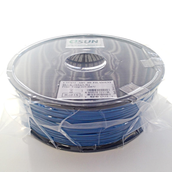 ABS Filament 1.75mm blue (1kg)