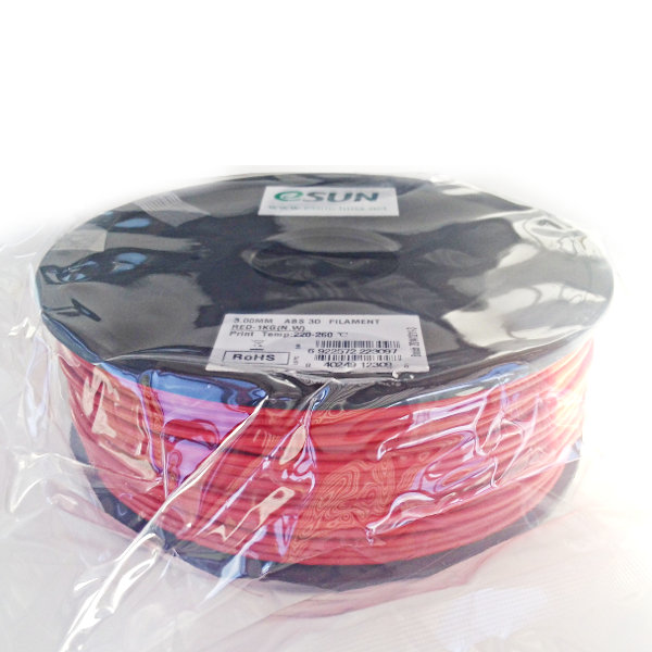 ABS Filament 3mm red (1kg)