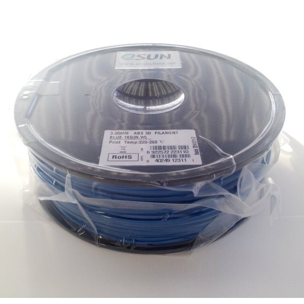 ABS Filament 3mm blue (1kg)