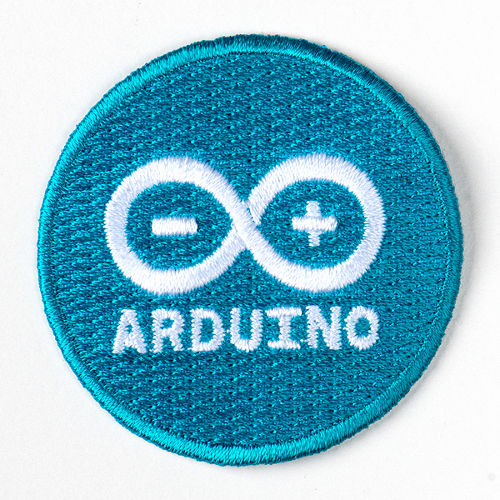 Arduino - Skill Badge (Iron-on Patch)