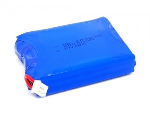 Lithium Ion Polymer Batteries Pack - 6Ah