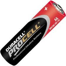 LR06/AA Duracell Procell Batterien (10 Stk.)