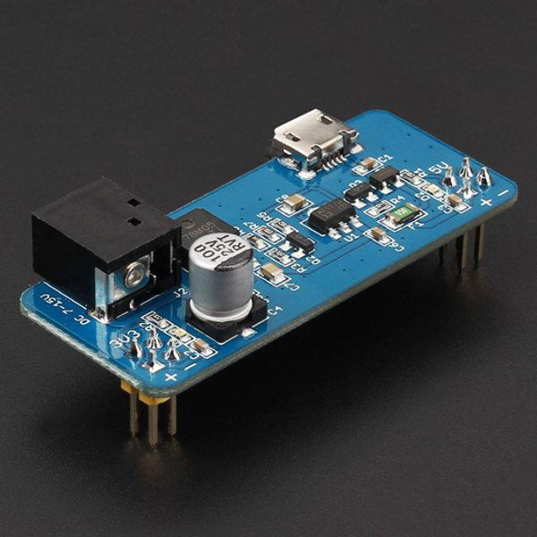 5V/3.3V Breadboard Stromversorgung v1.2