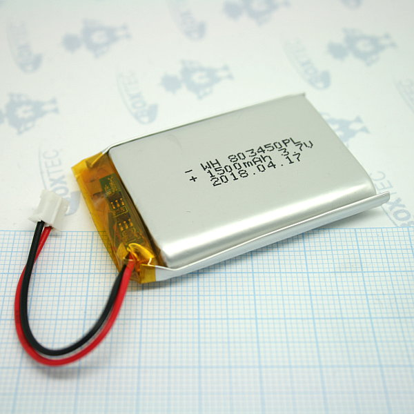 Lithium Ion Polymer Batteries Pack - 1500mAh
