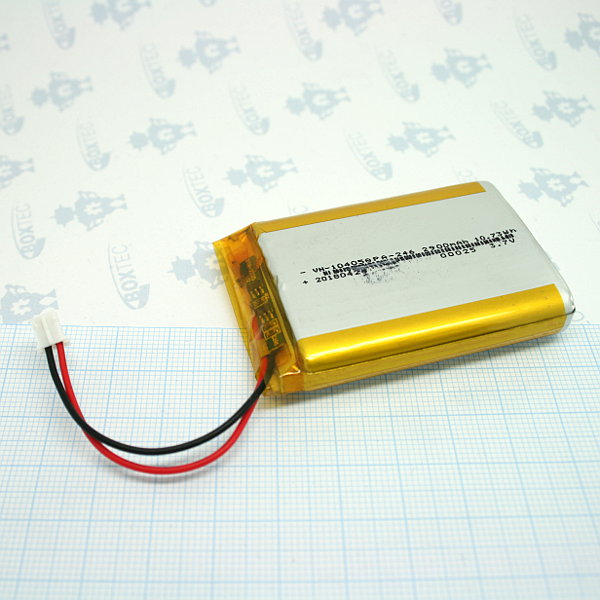 Lithium Ion Polymer Batteries Pack - 2900mAh