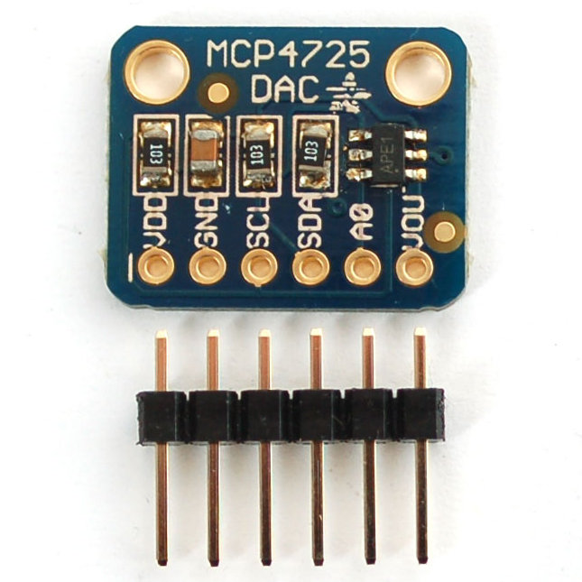 MCP4725 Breakout Board (12-Bit DAC w/ I2C)