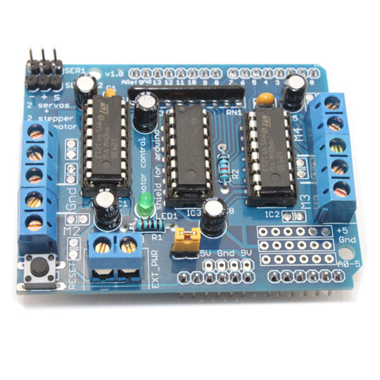 Arduino Motor/Stepper/Servo Shield