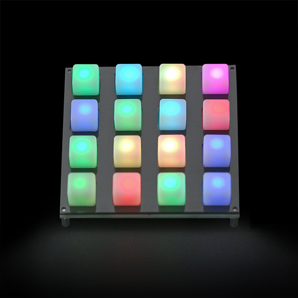 Button Pad 4x4 - LED kompatibel