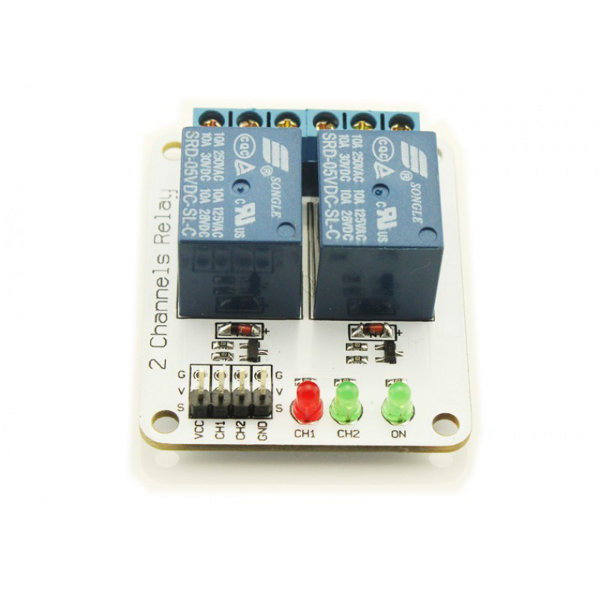 2 Channel Relay Module - 12V