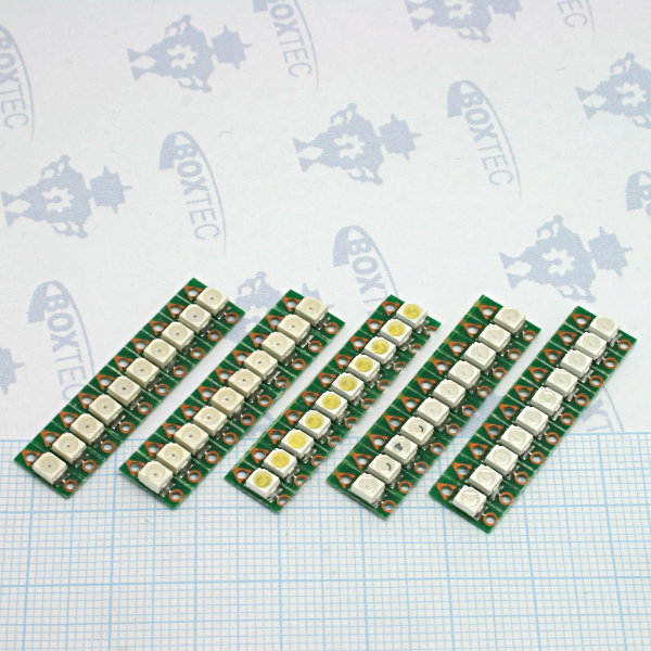 Sewable LEDs Kit - 5x10pcs