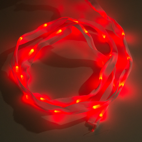 Nähbares LED Band - 1m, 25 LEDs (rot)
