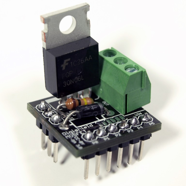 Digispark MOSFET Shield Kit