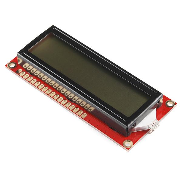 16x2 Character LCD - RGB Backlight