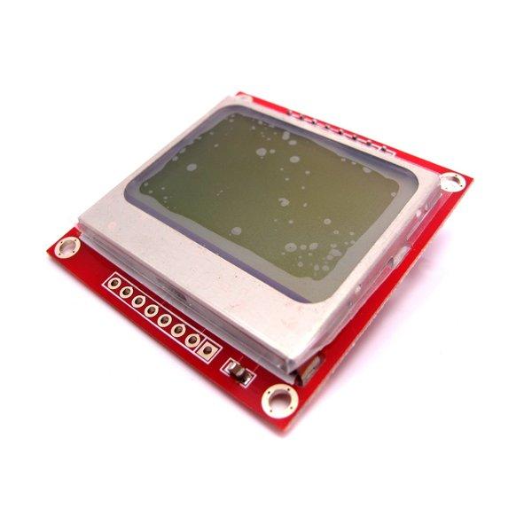 Nokia 5110 LCD (black on white)