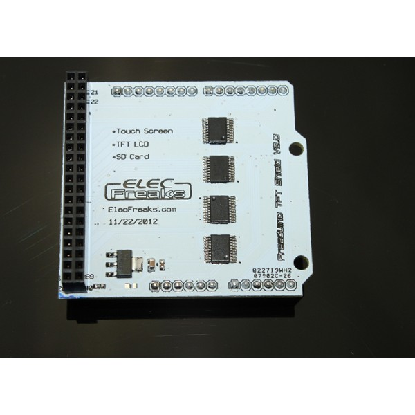 LCD TFT01 Arduino Shield v2.0