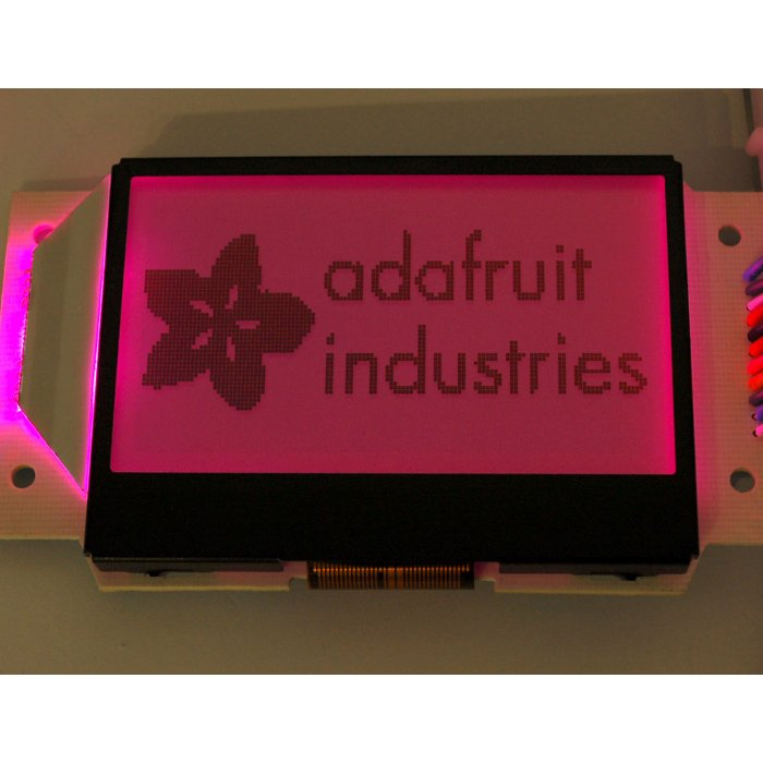 Graphic ST7565 Positive LCD (128x64) with RGB backlight