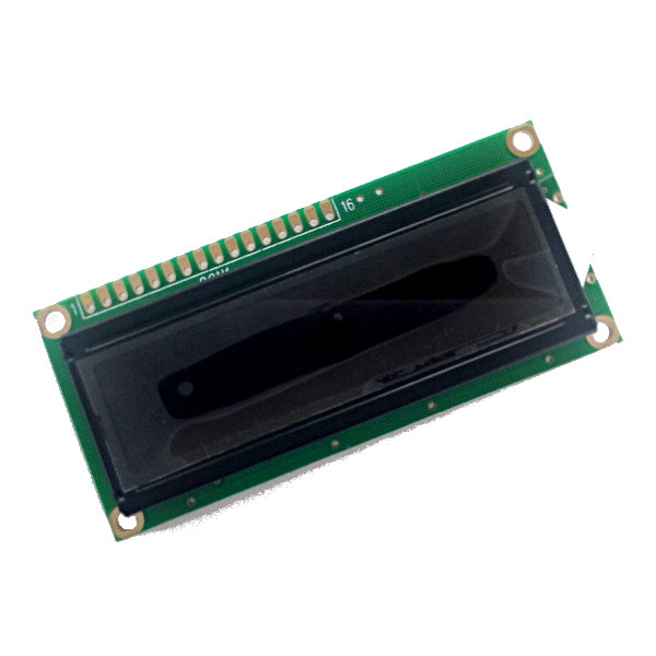 1602 LCD Module red characters, black backlight SPLC44780