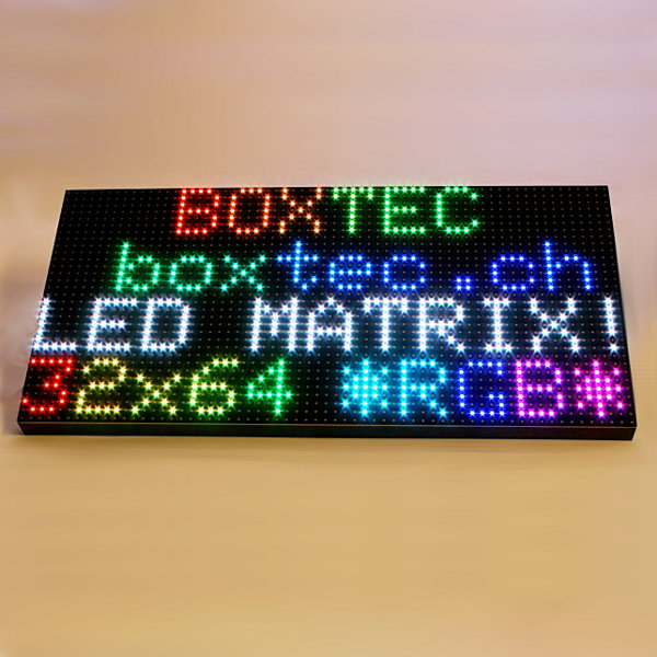 64x32 RGB LED Matrix - 5mm Abstand