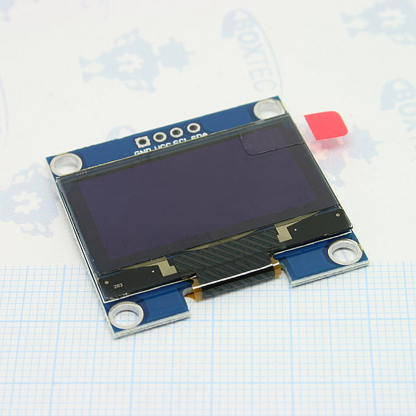 OLED I2C Display 128x64 - 1.3""