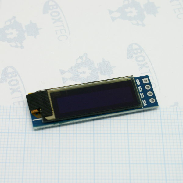 OLED I2C Display 128x32 - 0.91""