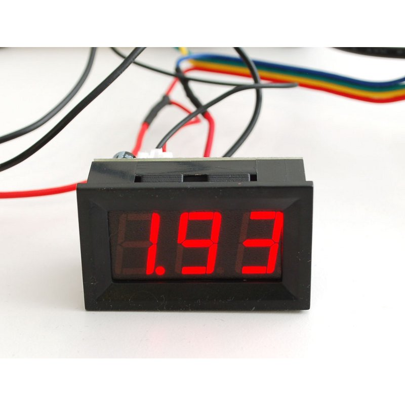 Panel Current Meter (0 - 9.99A)