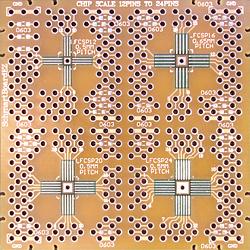 QFN Breakout, ez 12 Pins to 24 Pins .5mm & .65mm (202-0016-01)