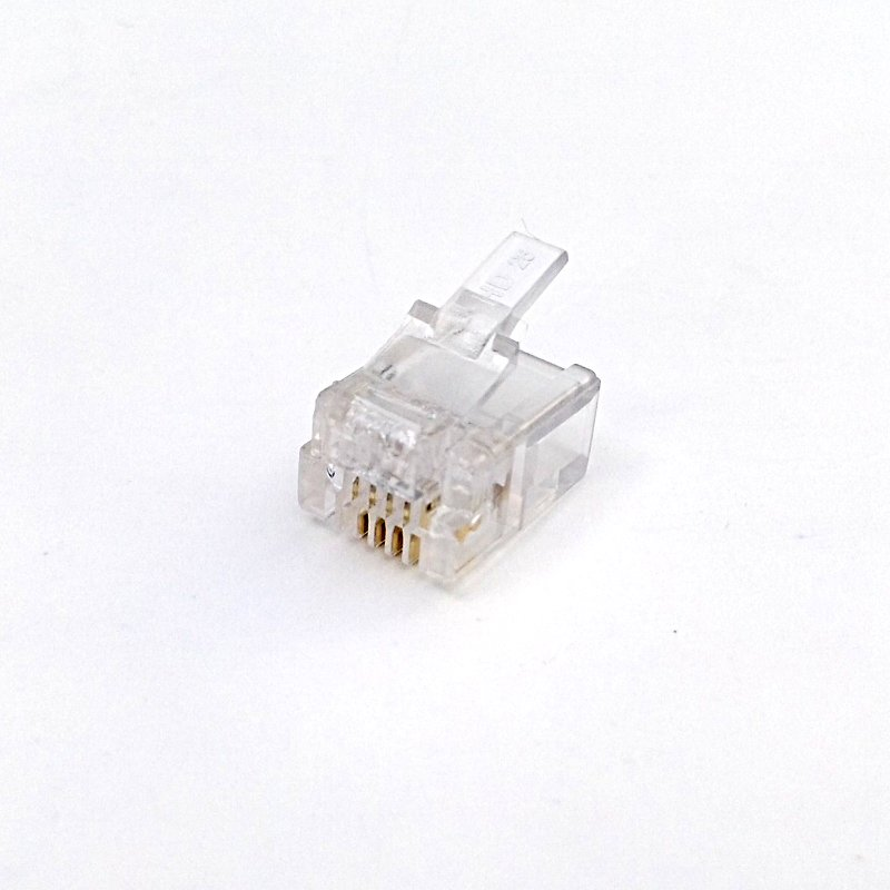 RJ11 6P4C Crimp Plug