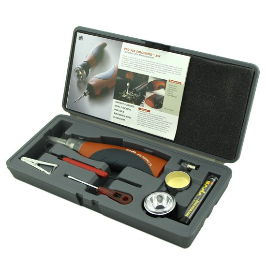 Battery powered Soldering Iron Kit Pro-35