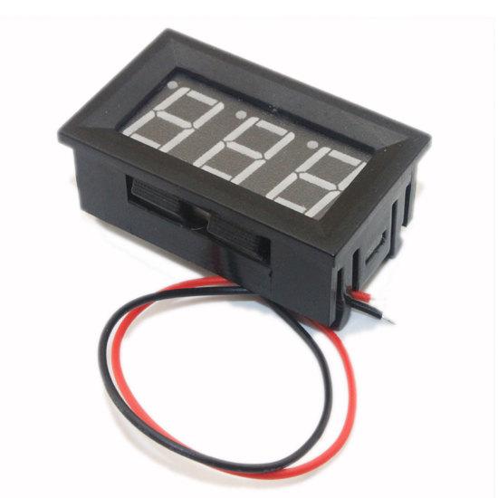 Panel Voltmeter (4.2-30VDC)