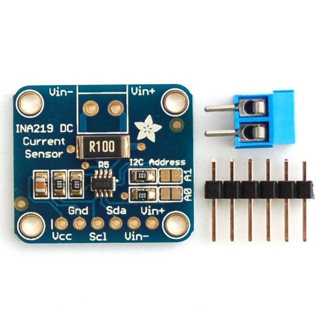 INA219 High Side DC Current Sensor Breakout (26V/±3.2A)