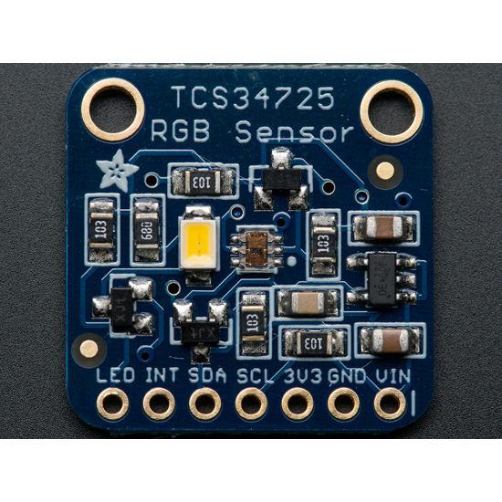 RGB Farb Sensor mit IR Filter und weisser LED - TCS34725