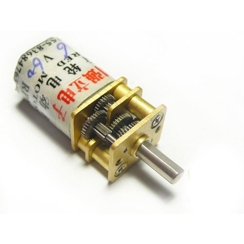 Gear Reduction Motor P12 (6V/60rpm)