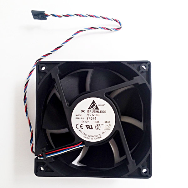 Delta AFC1212DE Fan 120x120x38mm 12VDC - Two Ball Bearing