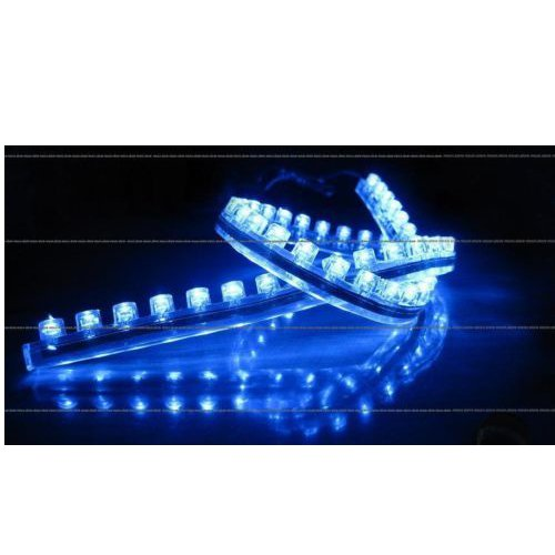 LED Strip blue 60cm 30 LED waterproof and self-adhesive.