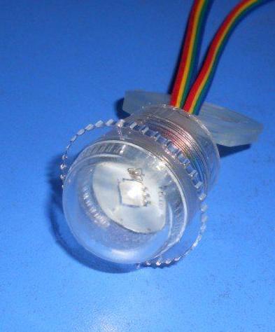 LED Pixel Module 26mm clear (WS2801)