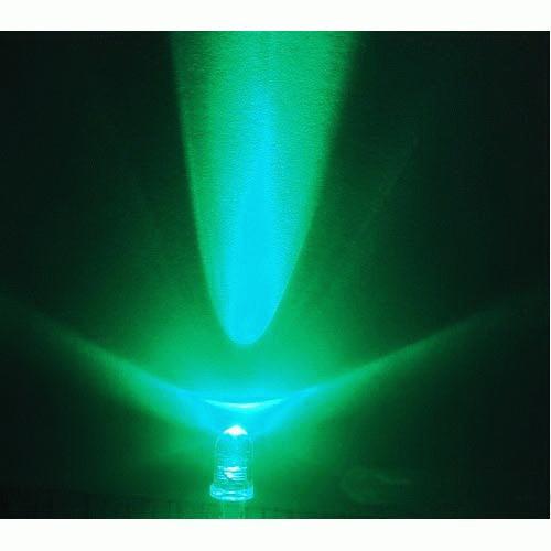 5mm LED grün - klar