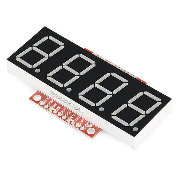 OpenSegment Serial Display - 20mm (Blue)