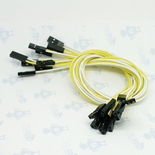 2pin dual female Jumper Wire (300mm) 10Stk.