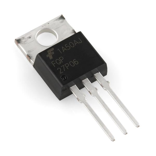P-Kanal MOSFET 60V 27A (FQP27P06)
