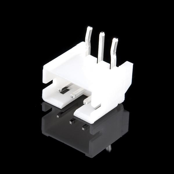 JST 3-Pin 90° Stecker 2mm zur Durchsteckmontage