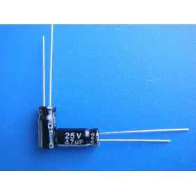 Electrolytic Capacitor 47uF/25V