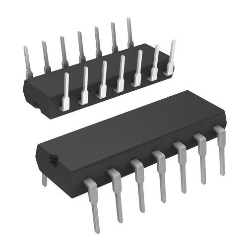 Vierfach NAND Gate (74HC00)